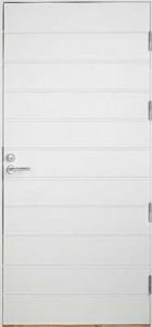 (d) Teknisen tilan ja varastojen ovet, UO7.