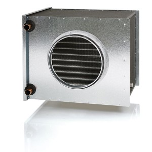 Kuva 2.29.  VEAB CHG 200 esilämmitys/-viilennyspatteri. [30]